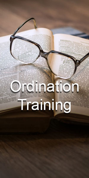 Ordination Training