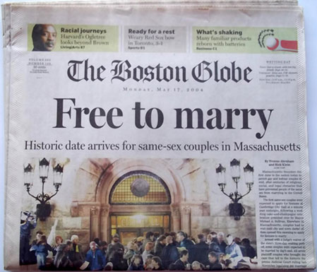 Free to marry - The Boston Globe Newspaper