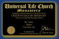 Universal Life Church, Wallet Credential
