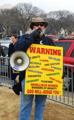 Man From Westboro Basptist Church