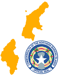 Northern Mariana Islands Outline