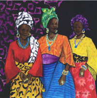Three Yoruban Women