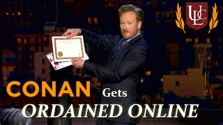 Conan Gets Ordained