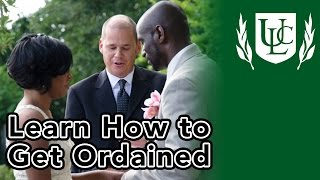 How to Get Ordained Online